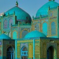 The magnificent Blue Mosque at Mazar e Sharif, in Herat, North Afghanistan