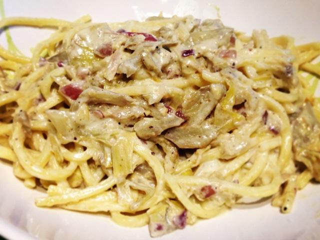spaghetti-alla-chitarra-con-carciofi