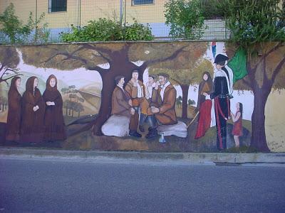 Sardegna: Murales - foto Gianni Lannes