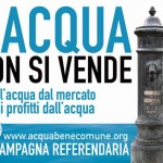 Acqua pubblica, l'Europa apre ma l'Italia non ascolta