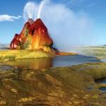 Fly Geyser: lo spettacolare geyser artificiale del Nevada