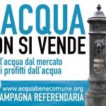 Acqua pubblica, da tutta Italia alla manifestazione di Reggio Emilia