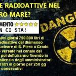 Toscana: sversamento nel mar tirreno di liquidi nucleari del reattore militare
