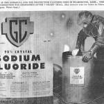 Fluoro, Bugie e Acqua Potabile