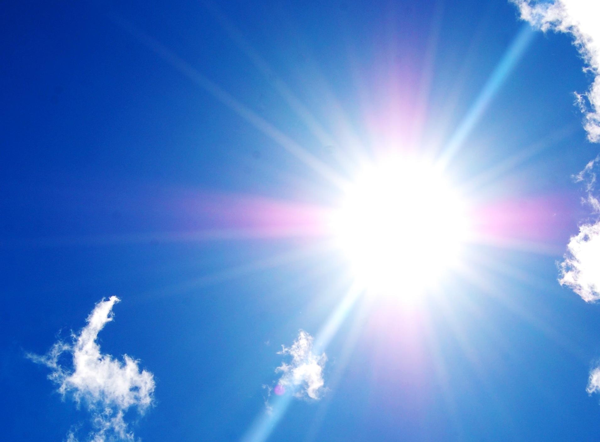 Sole, grande e benefico amico per tutti