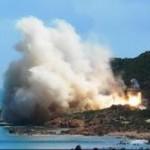 Sardegna – Un caccia tedesco distrugge 32 ettari di macchia mediterranea