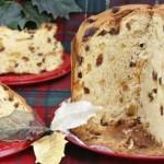 Panettone con pasta madre (ricetta vegan)
