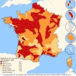 Acque dolci contaminate da pesticidi in Francia